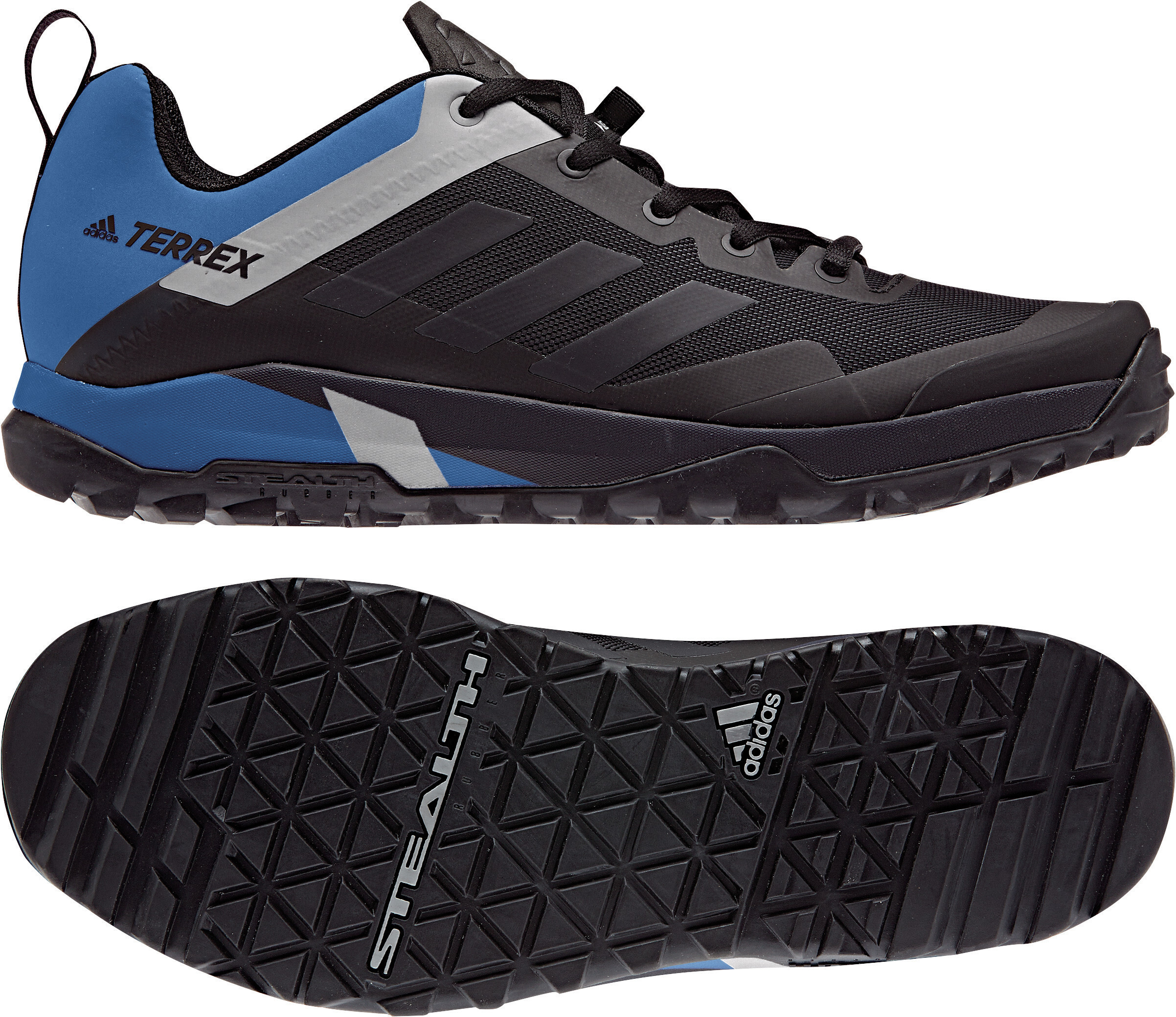 detailed look 61040 46530 adidas TERREX Trail Cross Sl Scarpe Uomo blu nero